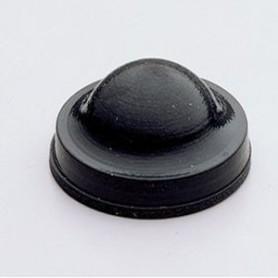 3M BUMPONS SJ6125 BLACK  Pack of 100 Nos