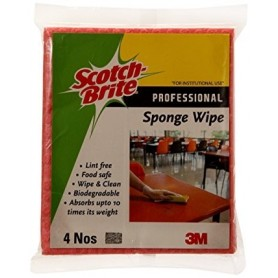 3M SB Sponge Wipe pack of 4 Nos