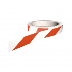 Floor Marking Tape-White/Red