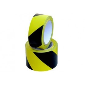 Floor Marking Tape-Black/Yellow
