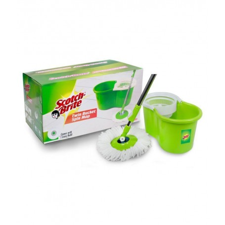Scotch brite Twin Bucket Spin Mop