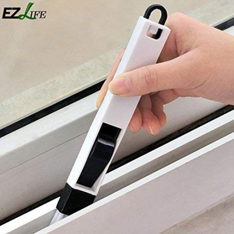 Click to open expanded view RACHEES Dust Cleaning Brush for Window Frame, Keyboard with Mini Dustpan (Standard Size)