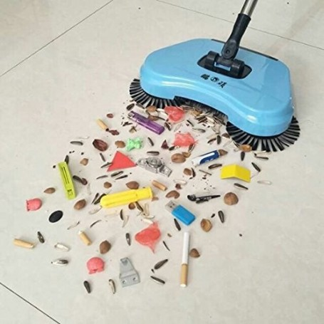 Sweeper mop Easy yse uto Spin Hand Push Sweeping Broom Floor dust Cleaning mop