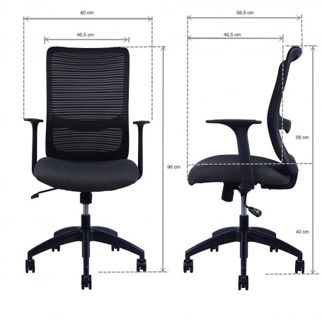 Sunon Olive Task Office Chair with Height Adjustable