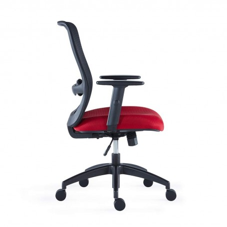 Sunon Iron Mesh Desk Chairs Medium Back Office Chair (Blue)