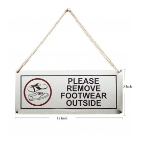 """Stainless Steel Hanging & Self Adhesive Please Keep Your Mobile in Silent Mode Signage Board (5""""x12"""")"""