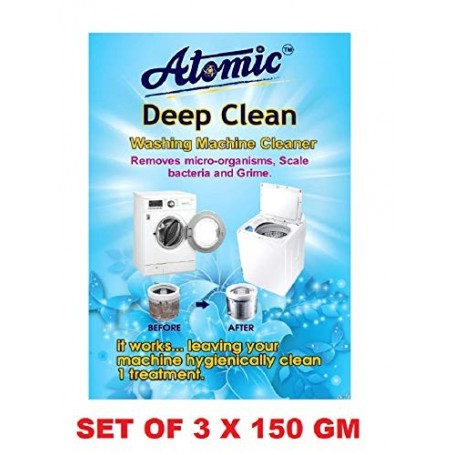 Washing Machine Cleaning Powder-[Tested By ACPL LONDON]Contain 150G PER PACK X 3