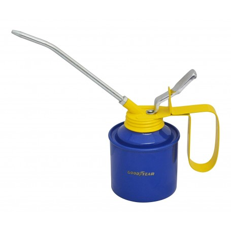Goodyear Metal Oil Can (Blue and Yellow)